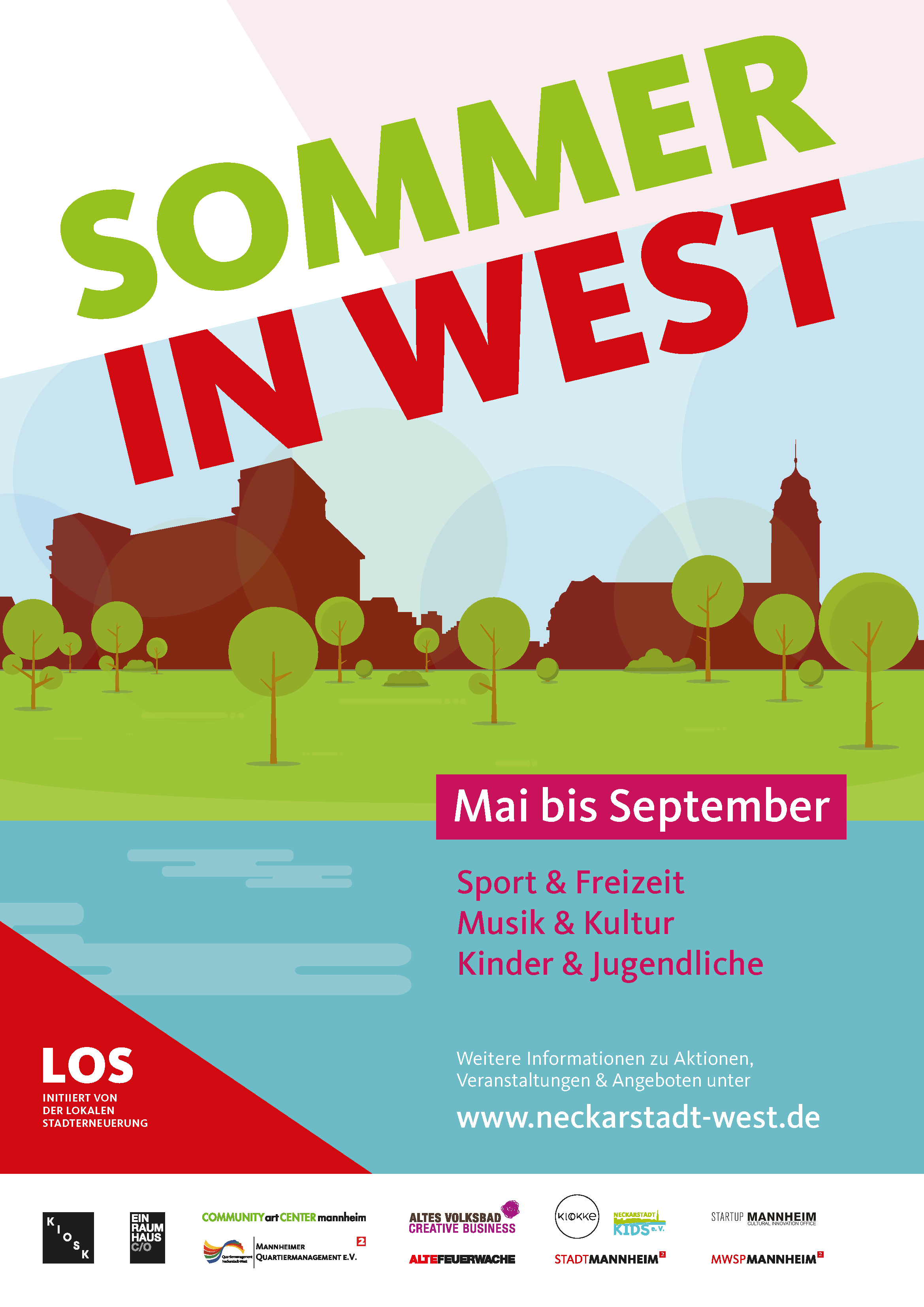 Sommer in West